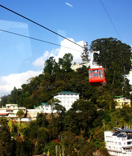 Cable Car Ride in Gangtok